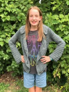 Jean Jacket Crochet Pattern - Crystalized Designs Blog