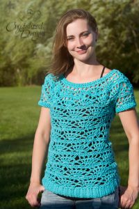 Radiant Tee Crochet Pattern