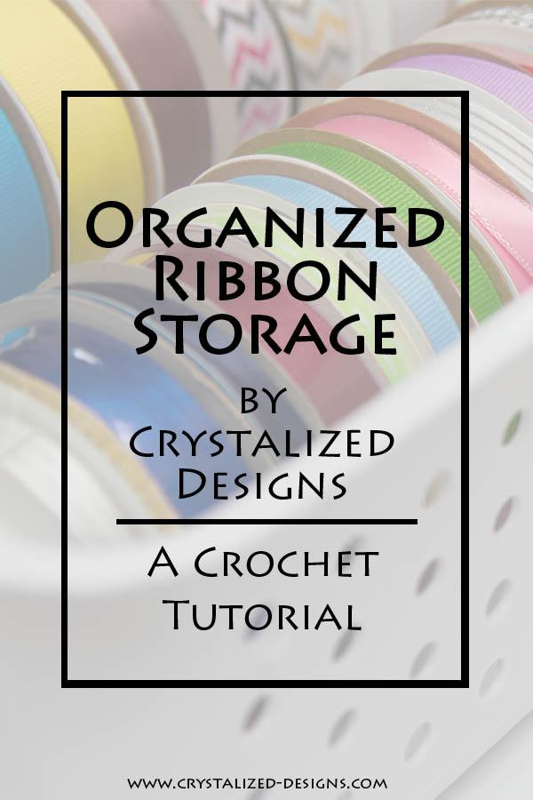 Organized Ribbon Storage Tutorial