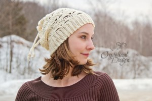 Lindsey Slouch pattern by Danyel Pink
