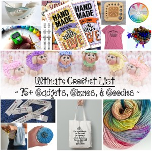 ultimate Crochet List by Crystalized Designs