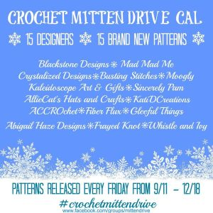 Crochet Mitten Drive