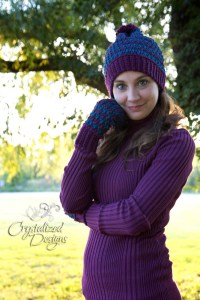 Ribbed Mittens Free Crochet Pattern