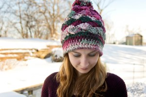 Shell Beanie Crochet Pattern