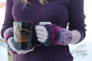 Shell Wrist Warmers Crochet Pattern