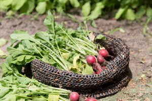 crochet garden bag