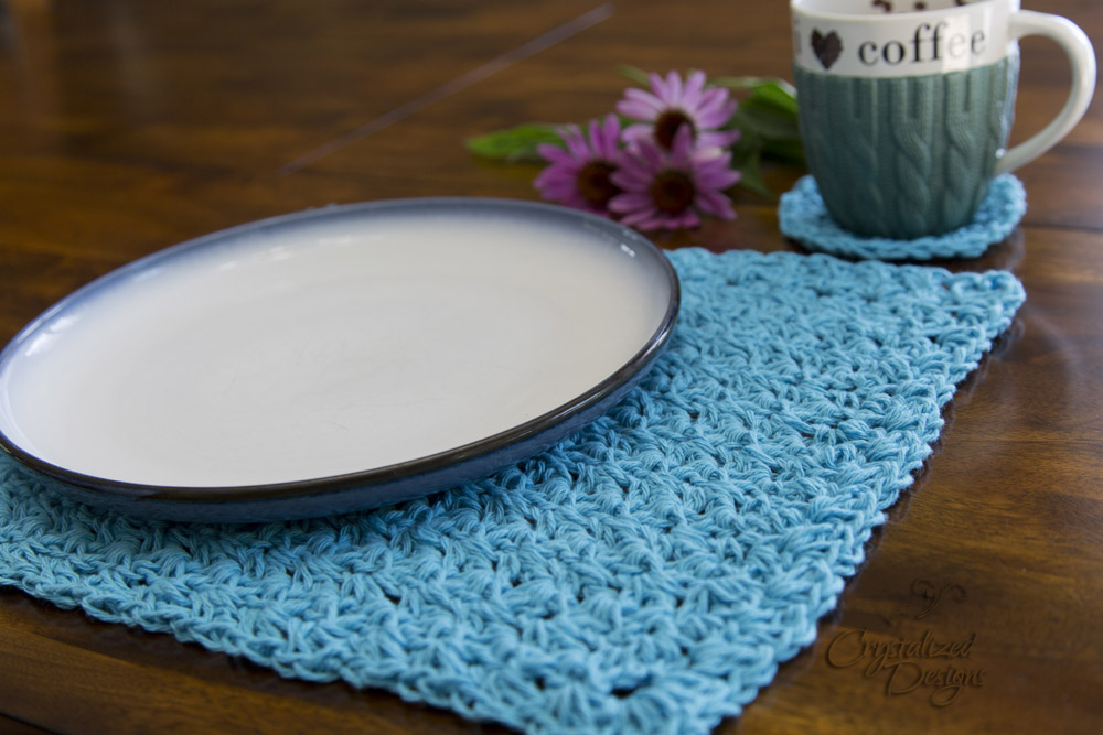 Crochet Placemat Crochet Pattern