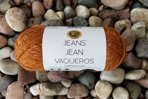 Lion Brand Jeans Yarn Product Review by Crystalized Designs