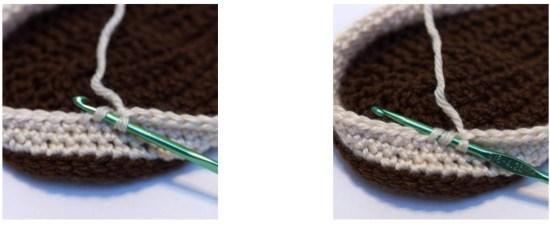 Invisible Decrease Crochet stitch