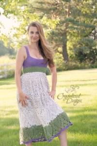Havanna Shirt Dress Crochet Pattern by Crystalized Designs