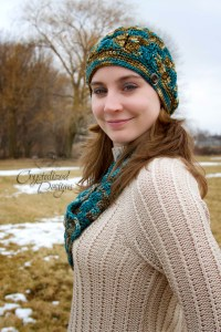 Affinity Beanie Slouch by Crystalized Designs