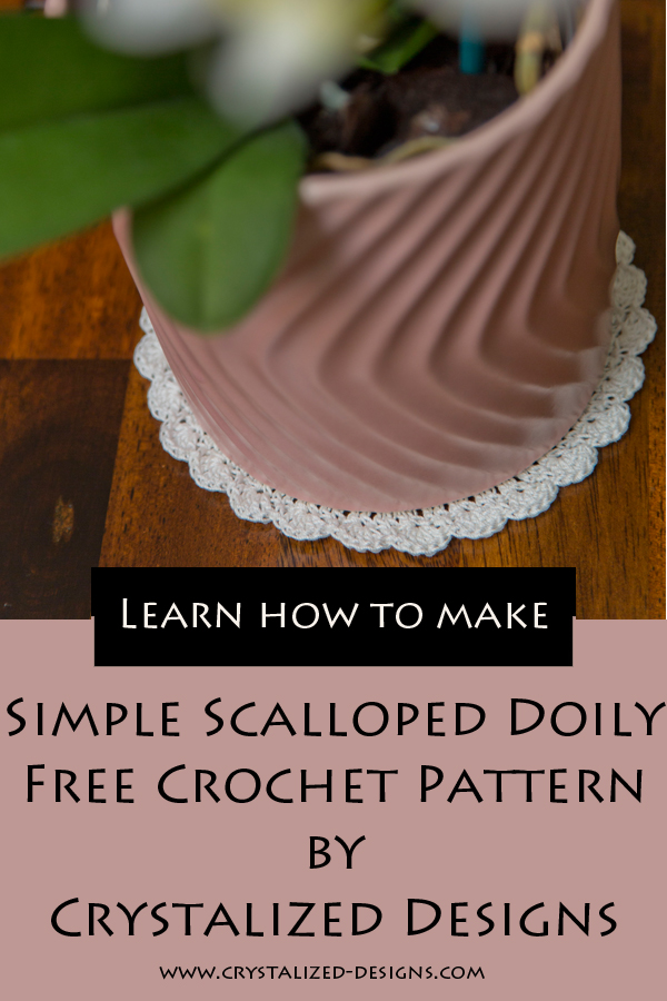 Simple Scalloped Doily by Crystalized Designs