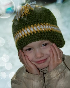 Opening Day Beanie by Crystalized Designs