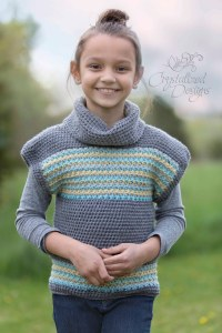 Avalon Shores Pullover CHILD by Crystalized Designs