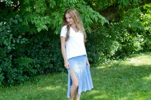 Emalia Summer Skirt Crochet Pattern by Crystalized Designs