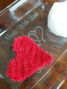 heart dishcloth crochet pattern
