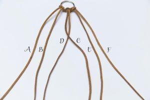 Braided Key Chain Tutorial by Crystalized Designs