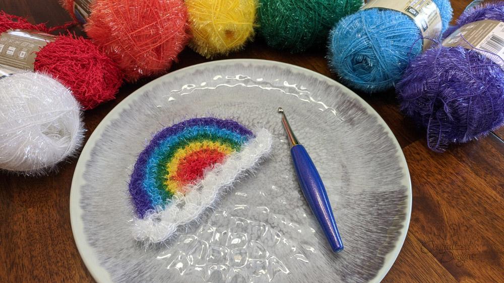 Rainbow Scrubby Crochet Pattern