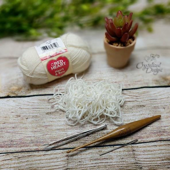 Untangle Yarn with Tools