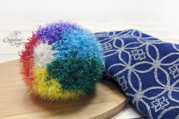 Beach Ball Free Crochet Pattern by Crystalized Designs