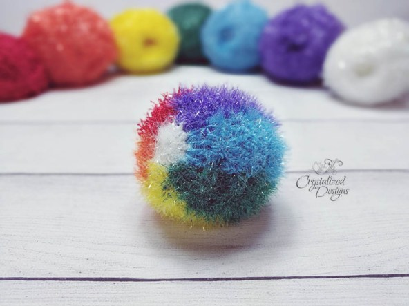 Beach Ball Free Crochet Pattern