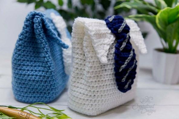 Side Tie Gift Bag Crochet Pattern site
