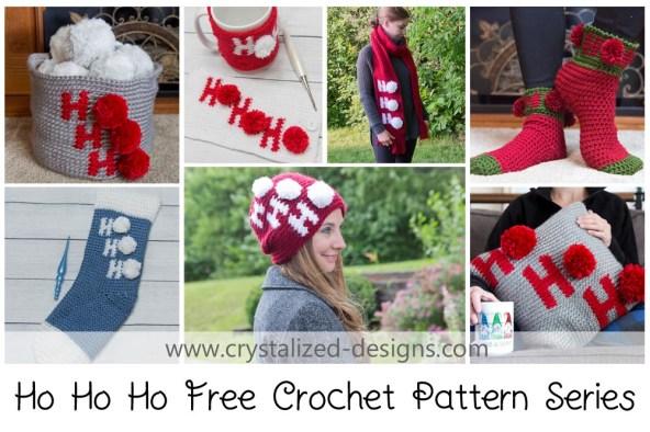 7 Free Christmas Crochet Pattern Series 2