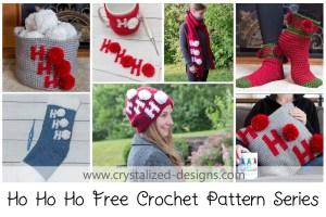 7 Free Christmas Crochet Pattern Series