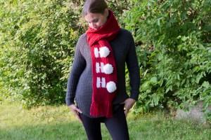 Christmas Scarf Crochet Pattern