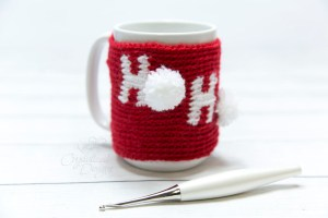 Ho Ho Ho Mug Cozy by Crystalized Designs