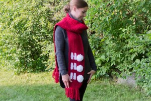 Christmas Scarf Crochet Pattern