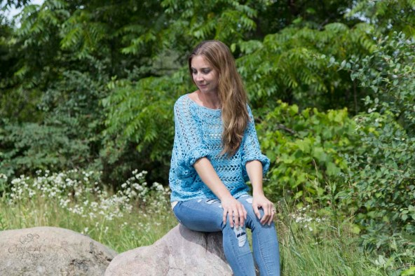 Nikita Pullover Free Crochet Pattern by Crystalized Designs
