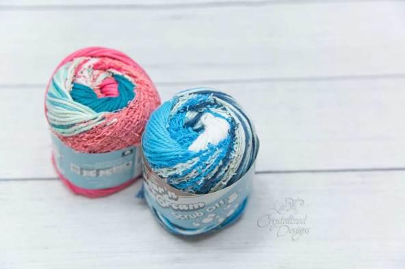 Scrub Off Yarn Review by Crystalized Designs