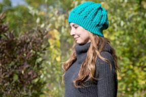 cancer crochet beanie uterine cancer