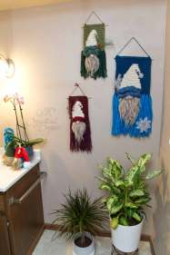 Free Crochet Pattern Gnome Wall Hanging