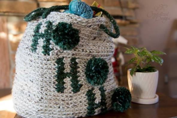 Free Crochet Tote Bag Pattern by Crystalized Designs