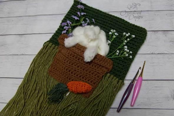 Bunny Wall Hanging Crochet Pattern