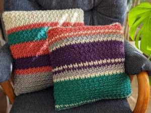 Set Boho Pillow Crochet Pattern
