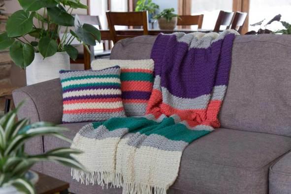 Free Boho Pillow Crochet Pattern