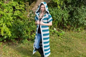 Talara Hooded Duster Free Crochet Pattern