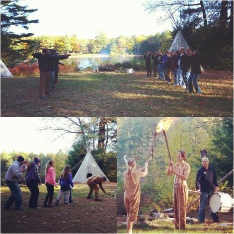 A camp classic - council fire!
