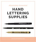 Absolutely-Essential-Hand-Lettering-Supplies