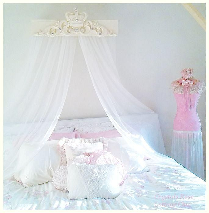 Bed Crown Canopy Teester Bella Chic on Wall Teester Bed Crown  id=32858