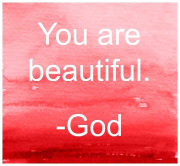 Blog art - You are beautiful
