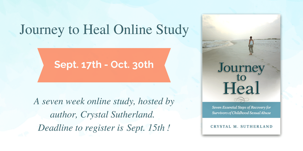 Join the Next Journey to Heal Online Study