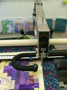 Crystal Vision Quilting longarm quilting feather designs