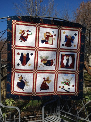 Elaine's Applique Quilt