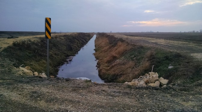 Ditch 56 Repairs Complete