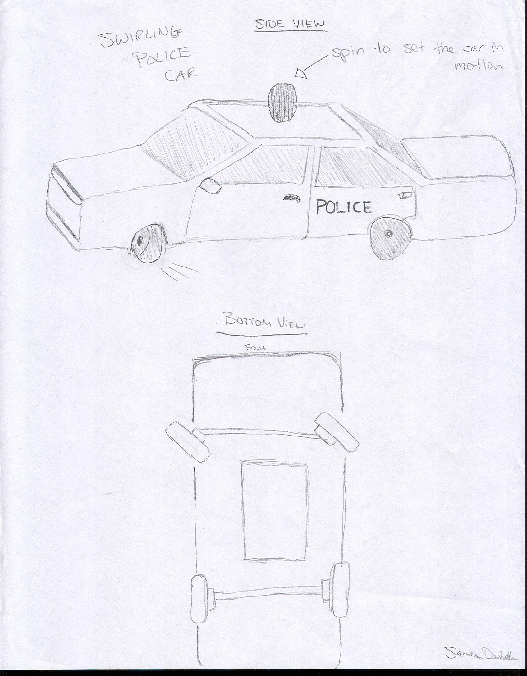 Slot Car Police Chase