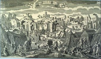 Image result for 1755 – In Portugal, Lisbon is totally devastated by a massive earthquake & tsunami, killing 90,000 people